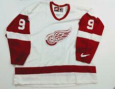 Detroit Red Wings Nike Air Vintage 90s Hockey Jersey Mens Sz XL #9 Gordie Howe