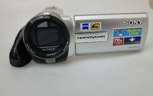 Sony Handycam DCR-SX65 4GB Camcorder - Silver - Great Condition