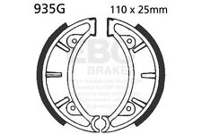 FIT OSSA  81 onwards  EBC FRONT GROOVED BRAKE SHOES