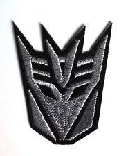 "Transformers Movie Decepticon Silver Mask 3"" Uniform Patch-FREE S&H(TRPA-05-Sm)"
