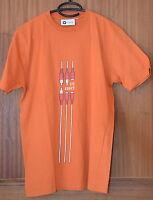 Tee-shirt manches courtes orange MOA CLUB WEAR Taille XL