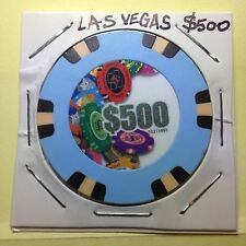 Casino chip / Token ~ $500 LAS VEGAS NEVADA