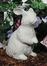 Cotton Tail Hops Papa Bunny Rabbit Ears Up Latex Rubber Fiberglass Mold Concrete
