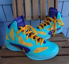 Nike Zoom Hyperfuse 2011 Los Angeles Sparks SAMPLE Vault 454136-700 SZ 7.5 RARE