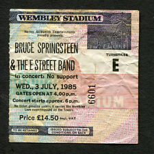 Bruce Springsteen 1985 Born In The USA Concert Ticket Stub Wembley London UK