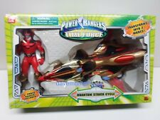 Power Rangers Time Force Quantum Strata Cycle & Quantum Ranger Action Figure