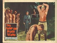 1958 MOVIE LOBBY CARD #3-1139 - THE CAMP ON BLOOD ISLAND