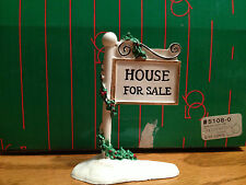 Dept 56 - Village Accessories - For Sale Sign