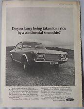 1969 Ford 20 MXL Original advert