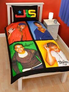 JLS 'Jukebox' Panneau Simple Housse de Couette Set Neuf Cadeau