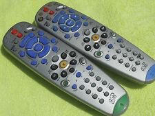 2 DISH NETWORK 5.0 IR & 6.0 UHF REMOTE CONTROL 625 522 942 DVR DUAL TUNNER #1 #2