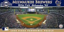 MASTERPIECES PANORAMIC MLB JIGSAW PUZZLE MILWAUKEE BREWERS MILLER PARK 1000 PCS