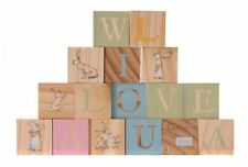 Rainbow Designs GUESS HOW MUCH I LOVE YOU WOODEN PICTURE BLOCKS Baby Toys BN