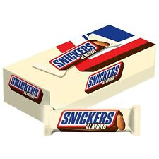 Snickers, Almond Chocolate Candy Bars 24 ct