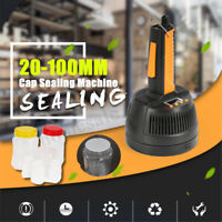 AC 220V 0.8-1.2KW 800A Electric Induction Bottle Cap Sealing Machine 20-100mm