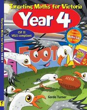 Targeting Maths for Victoria: Year 4 Student Book by Garda Turner.