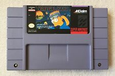 Virtual Bart (Super Nintendo Entertainment System, 1994) SNES *Cleaned & Tested*