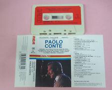 MC PAOLO CONTE Suonare danzare amare con 1987 italy RCA CK 70113 no cd lp vhs