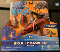 Toho Playmates Toys SKULLCRAWLER Godzilla vs Kong Movie Monsterverse RARE