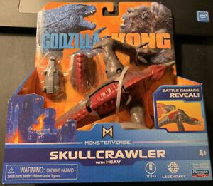 Toho Playmates Toys SKULLCRAWLER Godzilla vs Kong Movie Monsterverse RARE