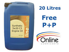 LineLube 5w30 Fully Synthetic Multigrade Engine Oil  20L 20 Litres C3 GM Dexos 2