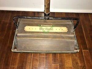 Antique Bissell's of Grand Rapids, Floor, Carpet Sweeper, War Model