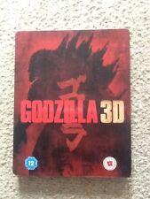 Godzilla 3D Steelbook (Blu Ray)