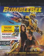 TRANSFORMERS BUMBLEBEE 4K ULTRA HD & BLURAY & DIGITAL SET with John Cena