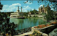 Rivers of America Sternwheeler Admiral Joe Fowler Walt Disney World FL Postcard