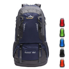 60L Waterproof Unisex Outdoor Travel Backpack Rucksack Sport Camping Hiking Bag