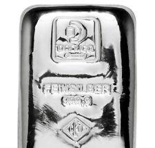 Doduco LEV 100 Gramm 999 Silber Silberbarren gegossen eingeschweißt Prägefrisch