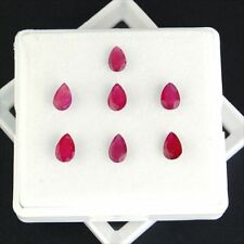 Mozambique Translucent Loose Natural Rubies