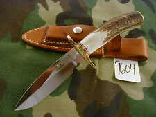 RANDALL KNIFE KNIVES RKS-1ST,S#161,BDH,BL.-AL.S,STAG,BP,SP. SHEATH   #9604