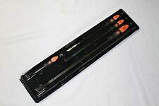 Matco Tools 4 Pc. Orange Pry Bar Set Striking Handle Heavy Duty PBSO4A Brand New