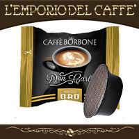 100 Capsule Cialde caffe Borbone Don Carlo Oro compatibili Lavazza A Modo Mio