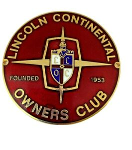 Vintage Lincoln Continental Owners Club