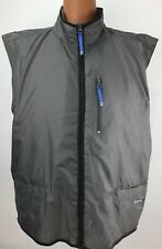Spalding Athletic Apparel Men's Vest Gray Water Repellent Size XL Jacket