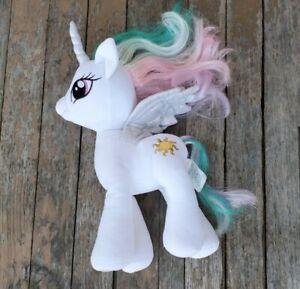 "Build a Bear Workshop BAB My little Pony Celestia Plush Unicorn 16"""