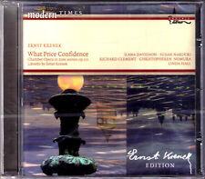 Ernst Krenek: what Price confidence Ilana Davidson Susan narucki Linda Hall CD