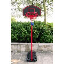 Basketball Goal 5.2ft-7.2ft Height Adjustable, Movable Portable Basketball Hoop