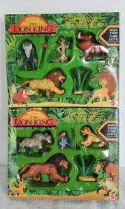 Disney Lion King Action Figure 2 Gift Sets ~ Simba Scar Rafiki Zazu Timon Pumbaa