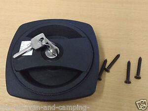 Caraloc 640 Caravan Motorhome Front Door Lock with Standard Barrel & 2 Keys