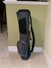 New listing Taylormade Quiver single-shoulder strap carry Golf bag 9 inch moonlite 3 lbs