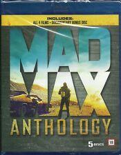 Mad Max Anthology blu-ray all 4 films on blu-ray + bonus DVD sealed