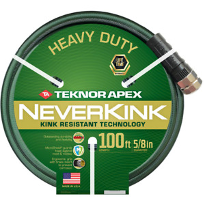 Garden Hose 5/8 in. x 100 ft. Anti-Kink Antimicrobial Coiled Scuff-Resistant