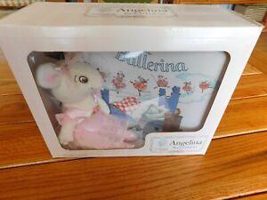 AMERICAN GIRL PC ANGELINA BALLERINA DOLL + BOOK SET NEW IN GIFT BOX RETIRED