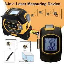 3-in-1 Laser Tape Measure Long-Distance Measuring 131 Ft Pythagorean Mode