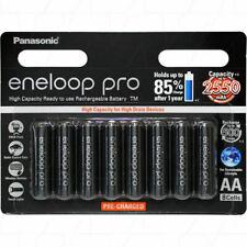 Panasonic BK3HCCE8BT Rechargeable Batteries - 8 Pack