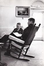 John Fitzgerald Kennedy George W Ball Original Vintage Octobre 1962