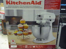 KITCHENAID K45SSWH 275 Watt TILT-HEAD STAND MIXER White New